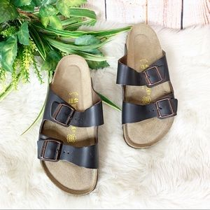 Birkenstock Arizona Brown Footbed Sandals